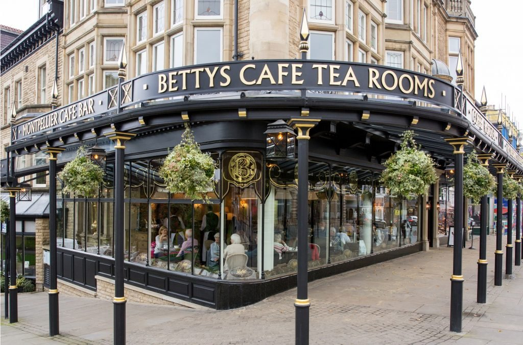Bettys café and tea room in Harrogate